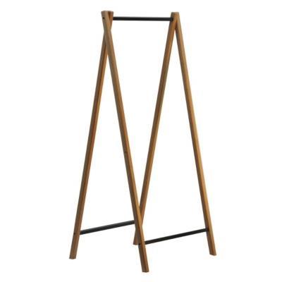 Portant en bois et métal pliable 60 cm