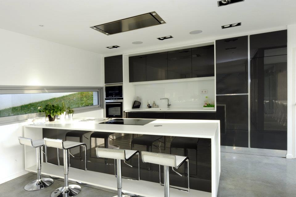 Cuisine ouverte quip e cubik architecture photo n 72 for Cuisines contemporaines design