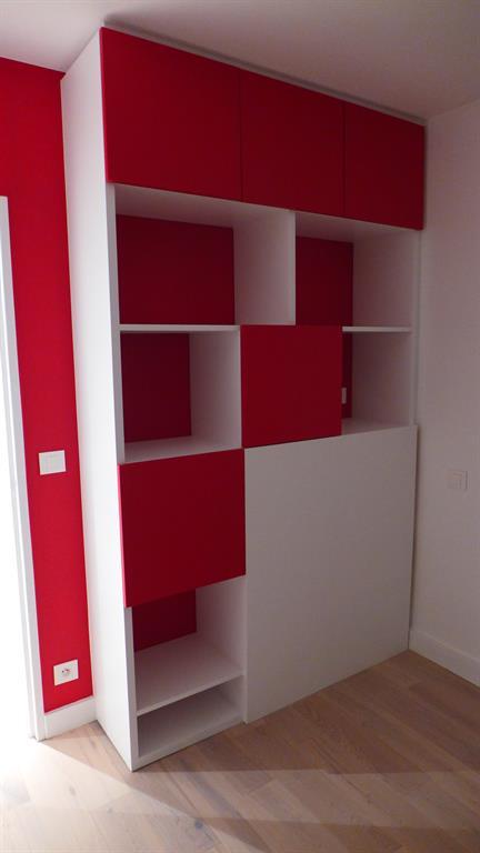 biblioth que t te de lit virginie barnaba architecture. Black Bedroom Furniture Sets. Home Design Ideas