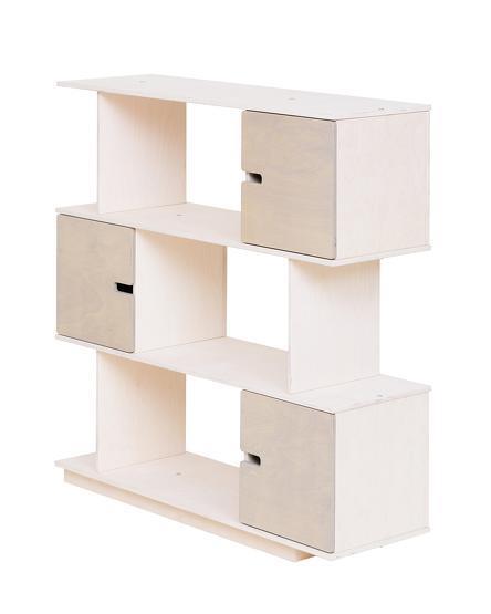 Etagère 3 niveaux blanche Pix - Radis