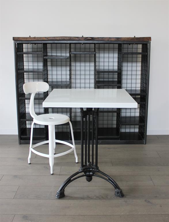 Table De Bistrot Emaillee Gamme Neo Bistrot Par Ardamez