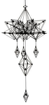 Suspension Himmeli / H 133 cm - Forestier noir en métal
