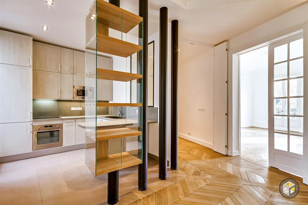 cuisine semi ouverte r novateurs photo n 48 domozoom. Black Bedroom Furniture Sets. Home Design Ideas