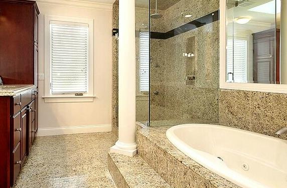 Carrelage granit beige brillant au sol et mur darcy d coration for Comcarrelage sol brillant