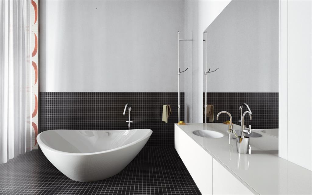 Image Salle de bain confortable et moderne newhomeagency