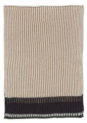 Torchon Akin / 34 x 70 cm - Ferm Living rose en tissu