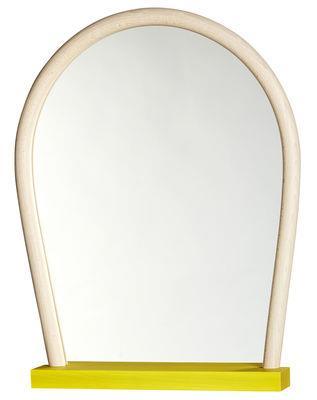 Miroir Bent Wood / L 50 x H 65