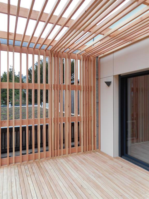 Aménagement d'une terrasse en bois au look design