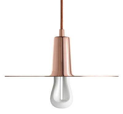 Suspension Drop Hat / Ampoule LED 002 incluse - Plumen cuivre en métal