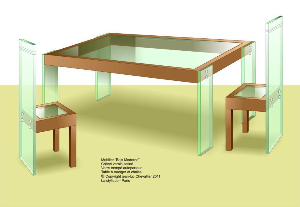 Chaise pour table en bois beautiful with chaise pour for Chaise de salle a manger rue du commerce