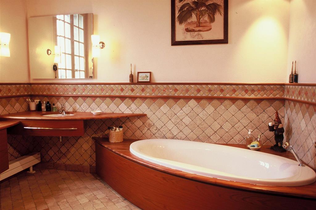 Id es et conseils pour cr er l 39 ambiance simple des maisons for Salle de bain style campagne