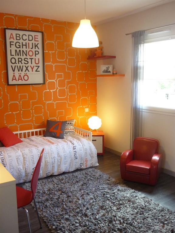 Chambre orange esprit vintage Un Amour de Maison photo n°38