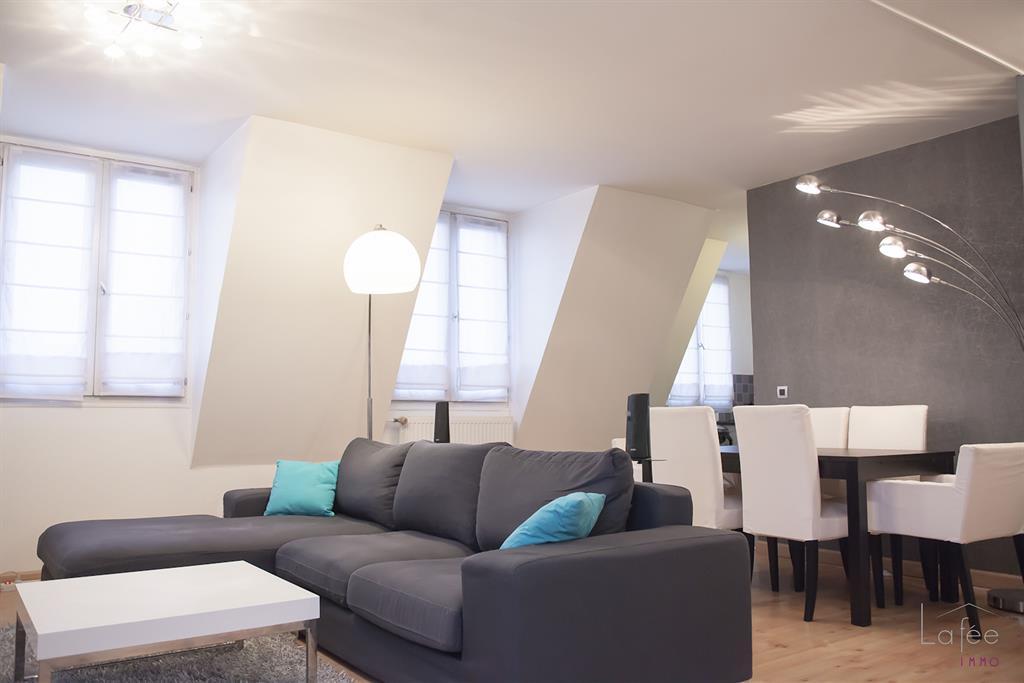 Salon Moderne Design Gris