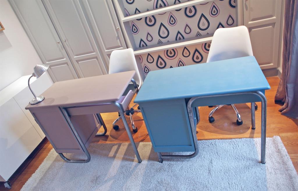 Bureau moderne vintage: home by reed simon bureau moderne. fabriquer