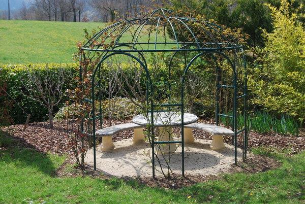 Tonnelles en fer forg - Tonnelle jardin fer forge ...