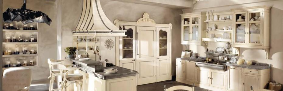 cuisine vintage blanche et cr me gc gc photo n 52 domozoom. Black Bedroom Furniture Sets. Home Design Ideas