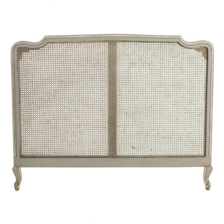 Tête de lit en manguier grise L 160 cm Beaumanoir
