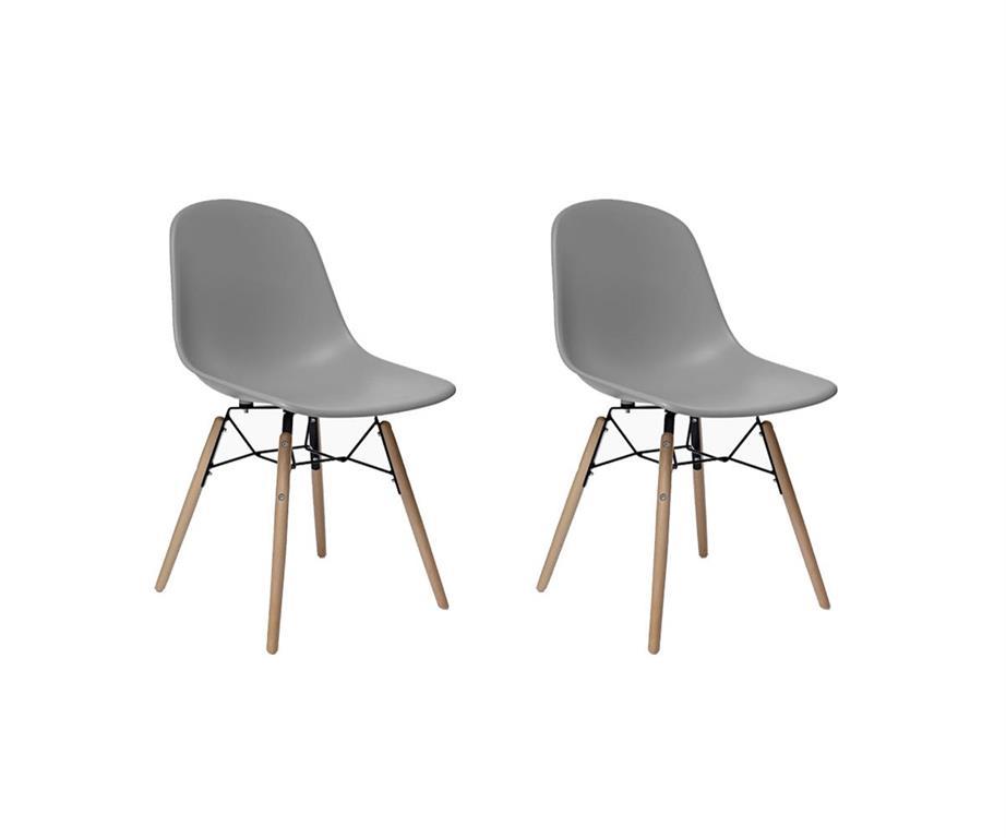 Aménagez votre espace salle à manger avec les chaises scandinaves FANNY.Munies d'une coque en polypropylène et de pieds en bois hêtre et acier noir, les chaises scandinaves FANNY s'inscrivent dans ...