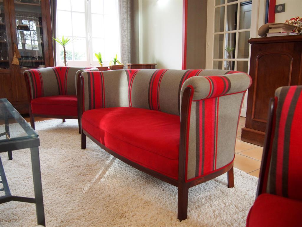 171991 salon moderne tissus d ameublement en rayures Résultat Supérieur 49 Incroyable Salon En Tissus Moderne Photos 2017 Zat3