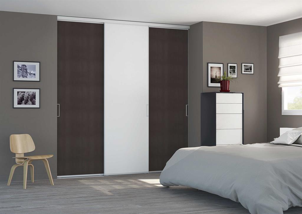 Placard dressing portes coulissantes for Porte de chambre coulissante