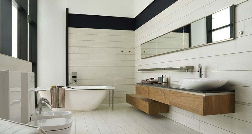 Salle de bain contemporaine harrold photo n 69 domozoom for Salle bain contemporaine