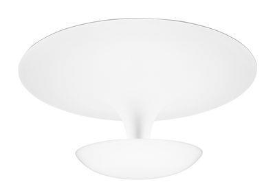 Plafonnier Funnel / Ø 35 cm - Vibia blanc en métal