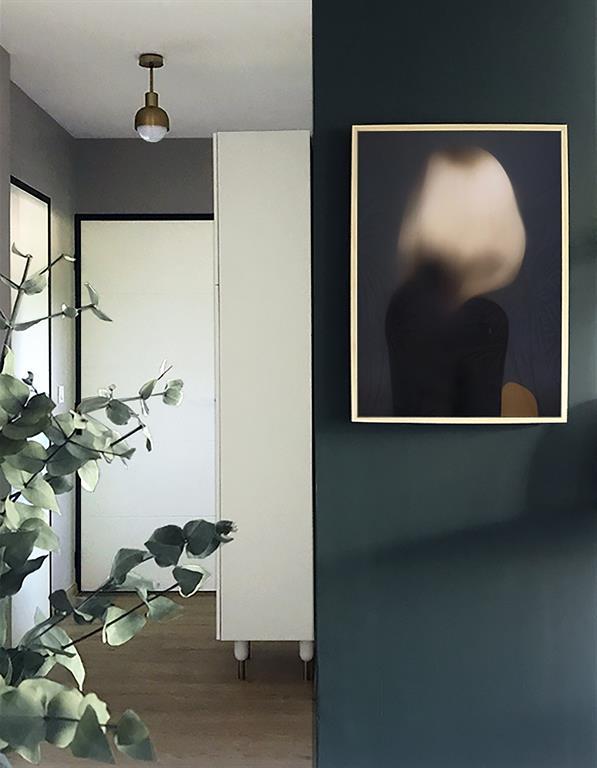 Rénovation d'un Appartement à Lyon - Agencement et Décoration - Hall d'entrée