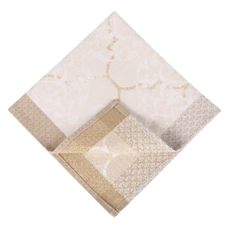 Serviette motif jacquard 42x42