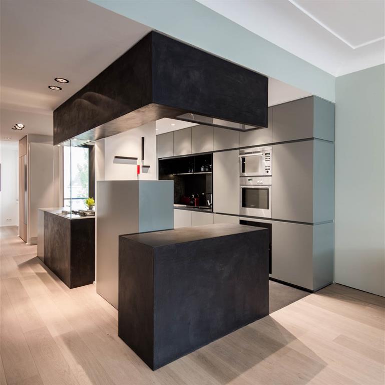 Cuisine Centrale Ouverte Christophe Ternest Architecture D Interieur