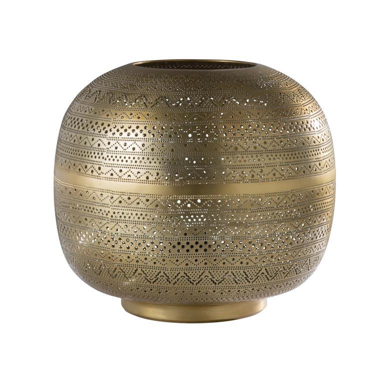 Lampe En Metal Cisele Bronze Maisons Du Monde Ref 177439