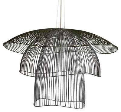 Suspension Papillon Large / Ø 100 cm - Forestier noir en métal