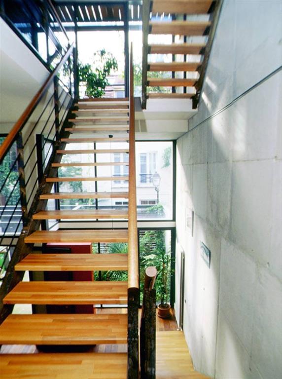 10 escaliers en bois chics et stylés par Marion Arnoud-Loherst ...