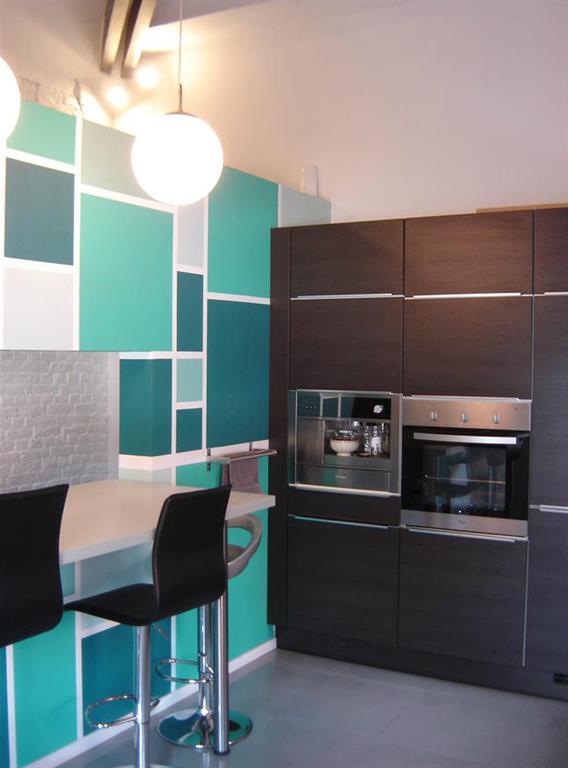 Cuisine color e des id es pour mettre de la couleur en for Couleur peinture cuisine moderne
