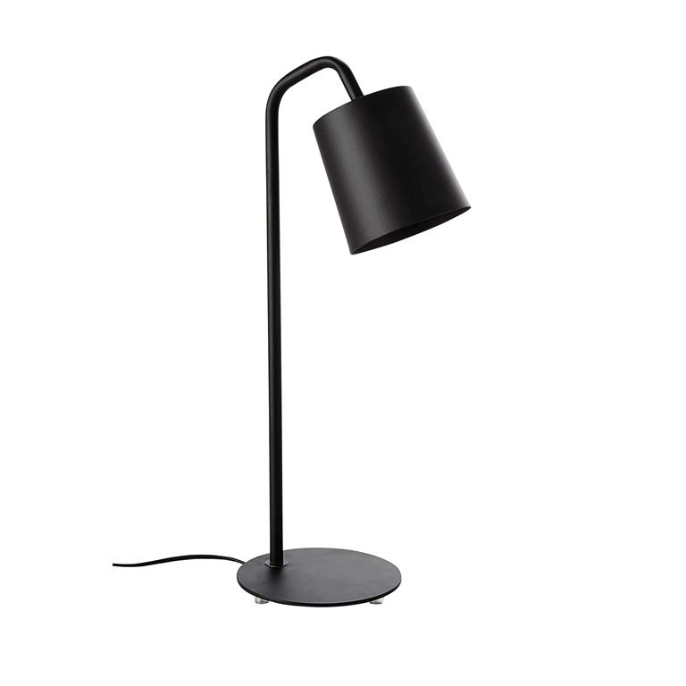 Lampe en métal noir H 55 cm CITYLIVE