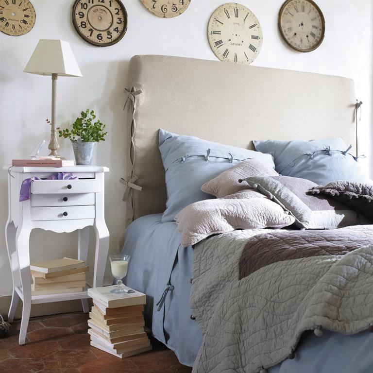 Chambre coucher lit et t te de lit for Housse tete de lit