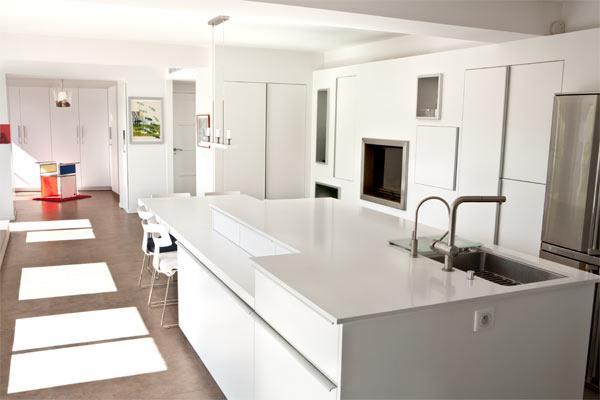 Cuisine cuisine blanc design : Cuisines design blanches : sélection de cuisines claires ...