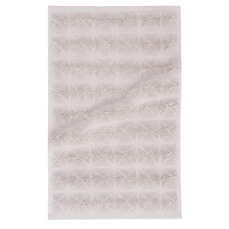 Serviette en coton motifs losanges 30x50