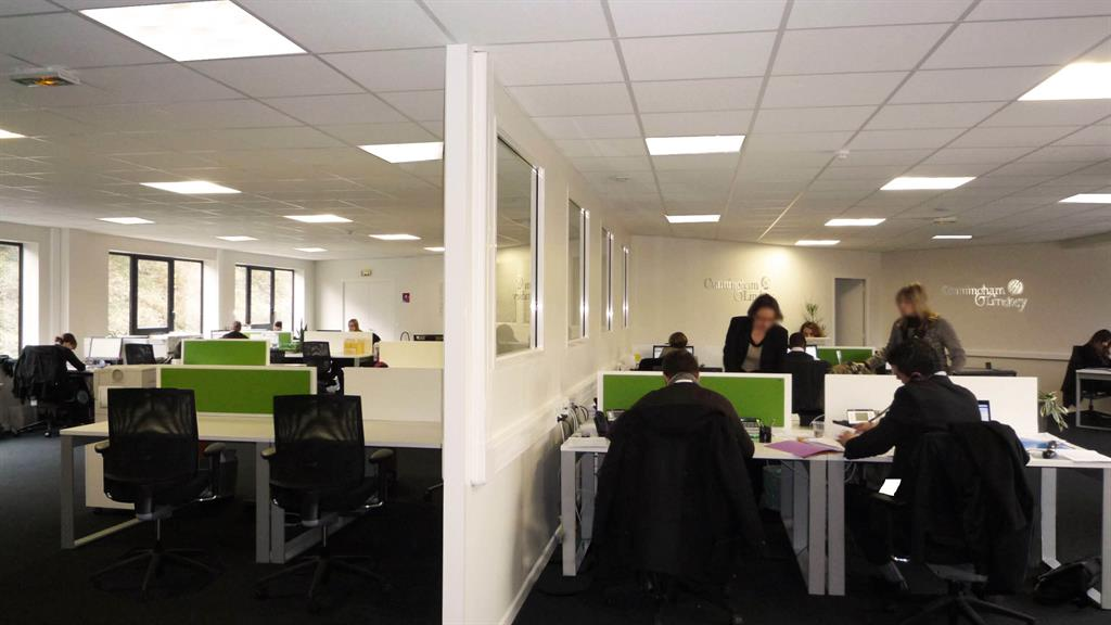 Bureaux open space lyon - Amenagement bureau open space ...