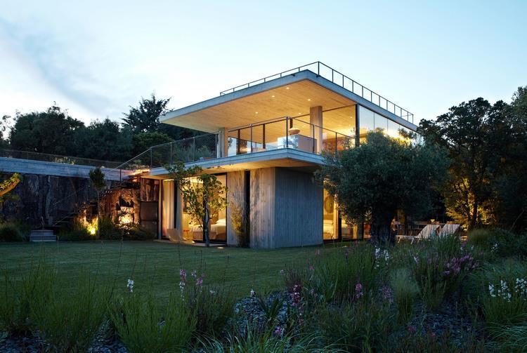 Image Villa vue de nuit Bumper Investments