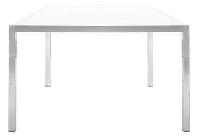 Table Tense / 150 x 150 cm - MDF Italia Blanc en Métal