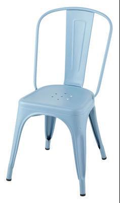 Chaise A empilable / Acier - Couleur mate - Intérieur - Tolix