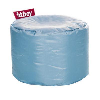 Pouf Point - Fatboy Ø 50 x H 35 cm bleu glace
