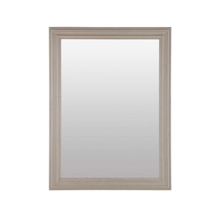 Miroir taupe Napoli 90x120