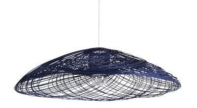 Suspension Satélise M / Rotin - Ø 60 cm - Forestier