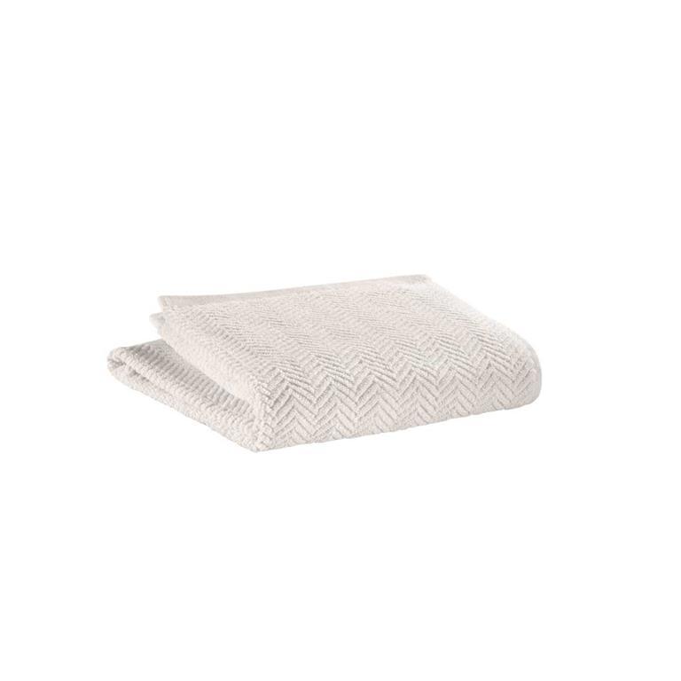 Serviette Invite  en coton ciment 30 x 50