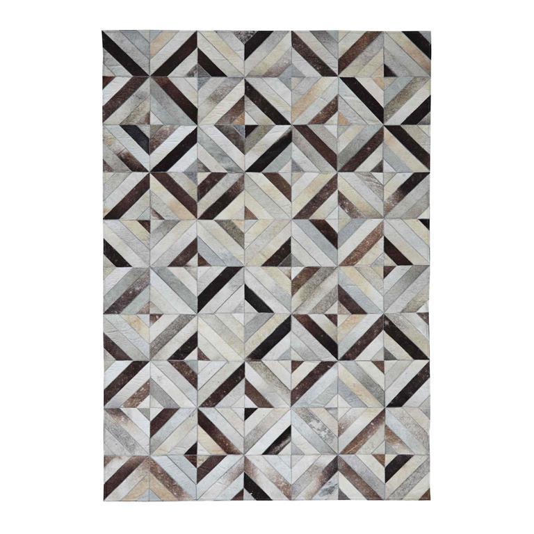 tapis en cuir 140 x 200 cm corbus maisons du monde