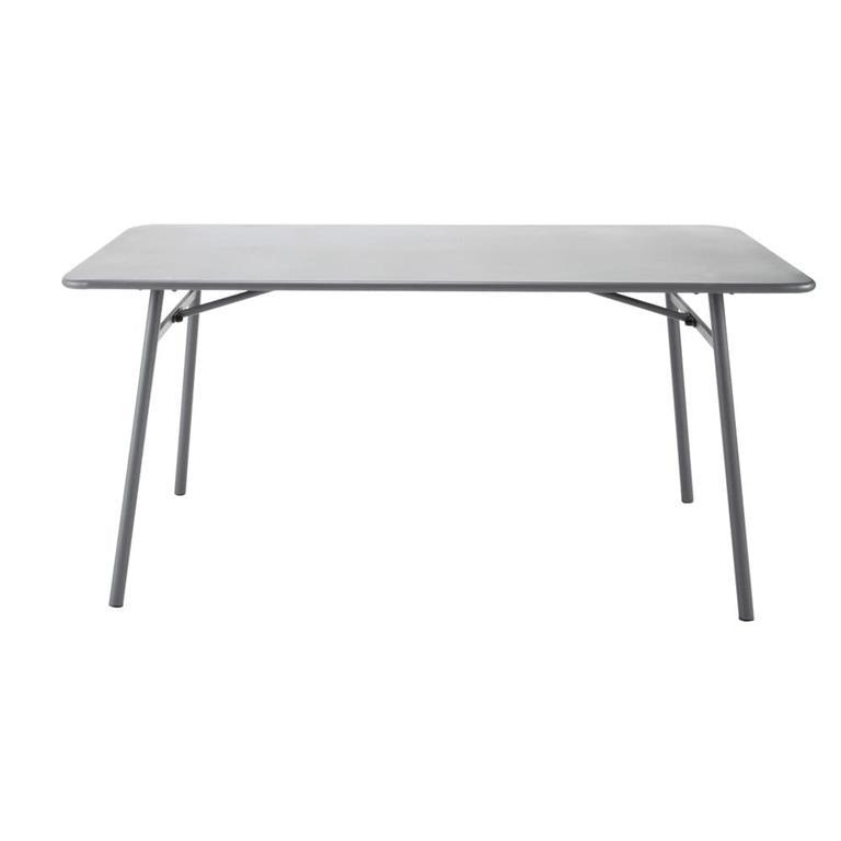 Table de jardin en métal L 160 cm Harry's