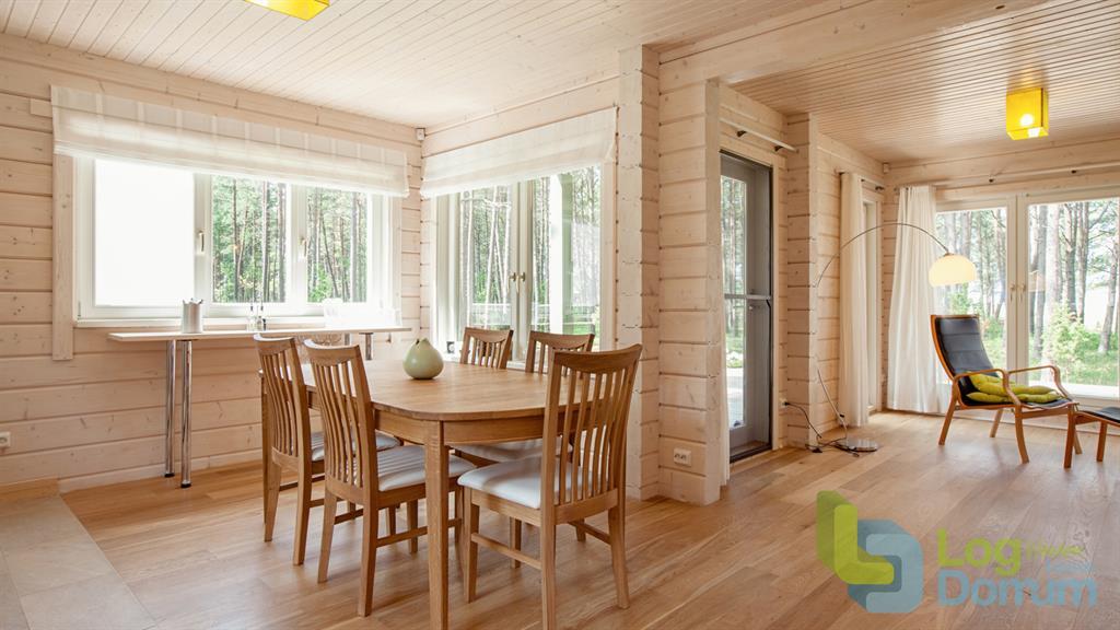 Maison en bois - Amenager piece a vivre ...