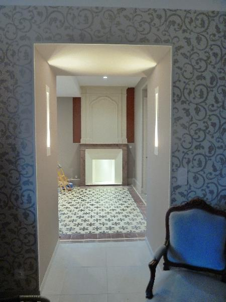 R novation d 39 une maison - Quel papier peint pour une entree ...