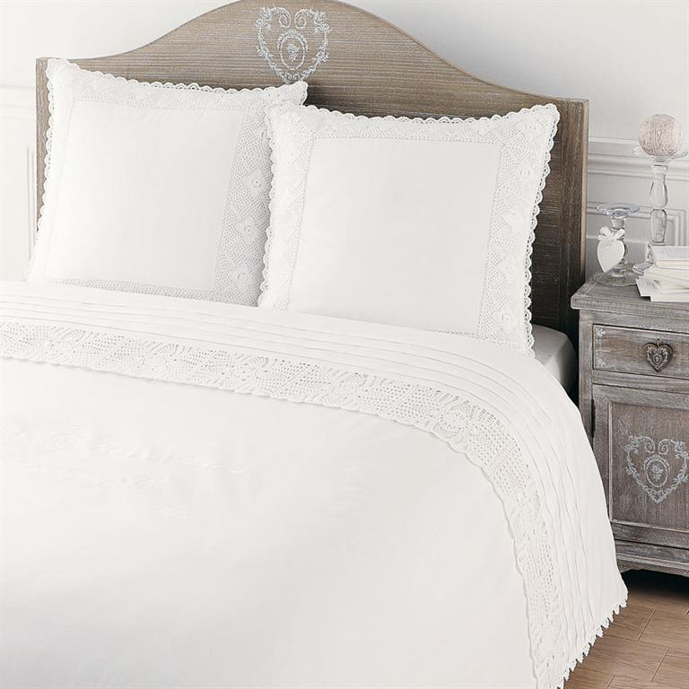 Tête de lit en bois de paulownia grisée L 160 cm